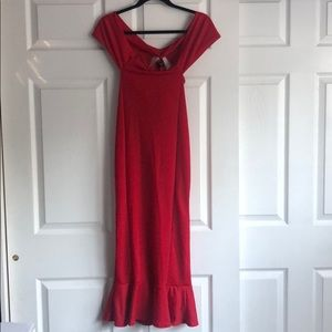 Pretty Little Thing Red Dress
